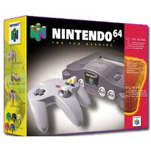 Nintendo 64 System Complete in Box