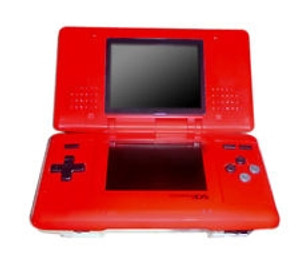 Nintendo DS Hot Rod Red with Charger