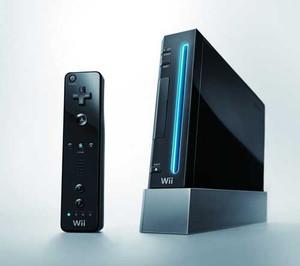Wii System Black Player Pak