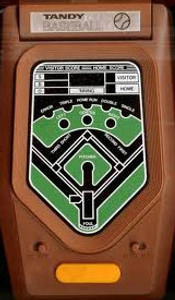 Tandy 2 Player Baseball Game