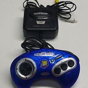 Sega Genesis Blue 6 in 1 Plug and Play TV Game