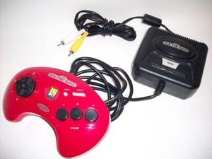 Sega Genesis Red 6 in 1 Plug and Play TV Game