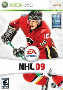NHL 09 Hockey - Xbox 360 Game