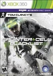 Splinter Cell Blacklist - Xbox 360 Game