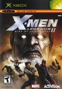 X-Men Legends II Rise of the Apocalypse - Xbox Game