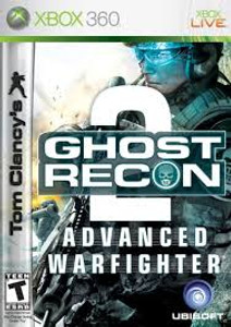 Ghost Recon Advanced War Fighter 2- Xbox 360 Game