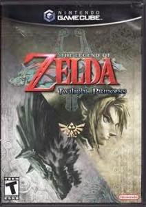 New Legend of Zelda Twilight Princess - GameCube Game