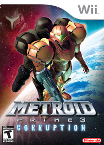 Metroid Prime 3 Corruption - Wii Game