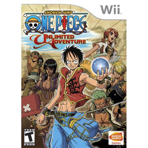 One Piece Unlimited Adventure Wii Nintendo Game For Sale.