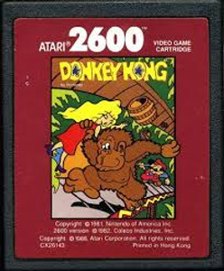 Donkey Kong Junior Red Label - Atari 2600 Game