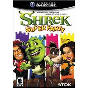 Shrek Super Party - GameCube Game