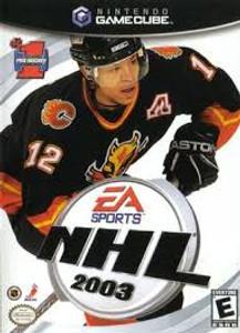 NHL 2003 - GameCube Game