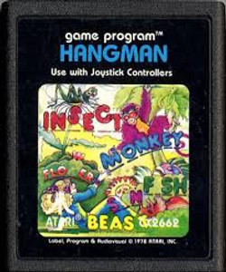 Hangman - Atari 2600 Game