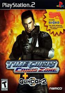 Time Crisis Crisis Zone - PS2 Game