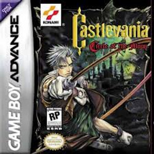Castlevania Circle of the Moon GBA GameCastlevania Circle of the Moon - Game Boy Advance