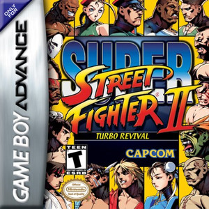 Super Street Fighter II Turbo Revival GBA GameSuper Street Fighter II Turbo Revival - Game Boy Advance