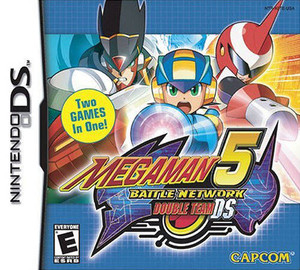 Mega Man 5 Battle Network Double Team - DS Game