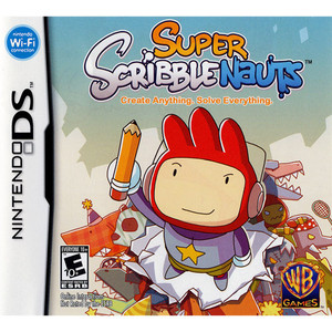 Super Scribble Nauts - DS Game