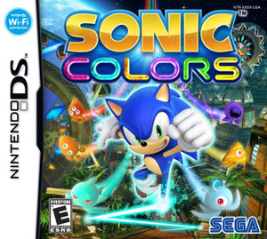 Sonic Colors - DS Game