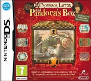Prof Layton Pandoras Box - DS Game