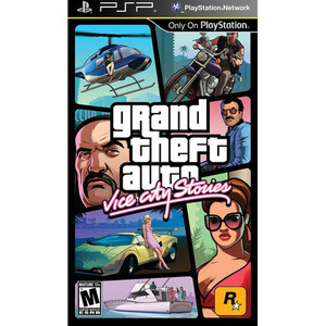 Grand Theft Auto Vice City Stories - PSP Game