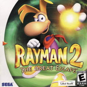 Complete Rayman 2 The Great Escape - Dreamcast Game