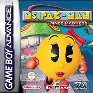 Ms. Pac-Man Maze Madness - Game Boy Advance