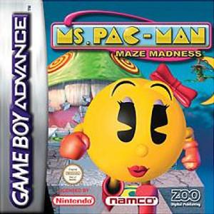 Ms. Pac-Man Maze Madness - Game Boy Advance