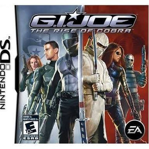 GI Joe Rise of Cobra - DS Game