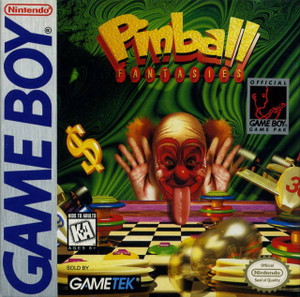 Pinball Fantasies  - Game Boy