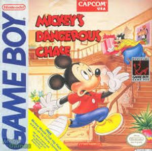Mickey's Dangerous Chase - Game Boy