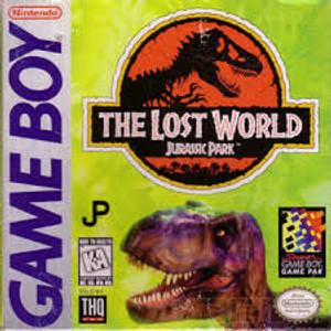 Lost World Jurassic Park - Game Boy
