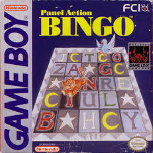 Panel Action Bingo - Game Boy