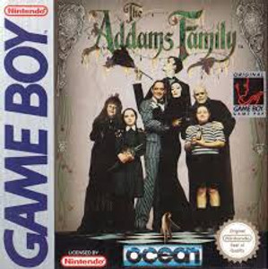 The Addams Family - Game Boy