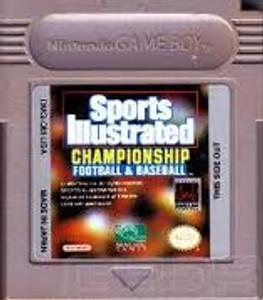 Championship Football & Baseball - Game Boy