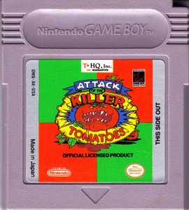 Attack of the Killer Tomatoes - Game Boy