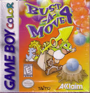 Bust A Move 4 - Game Boy