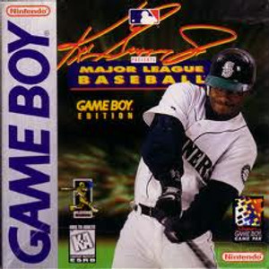 Ken Griffey Jr Presents Major League Baseball - Game Boy