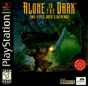 Alone In The Dark One Eyed Jacks Revenge - PS1 Game