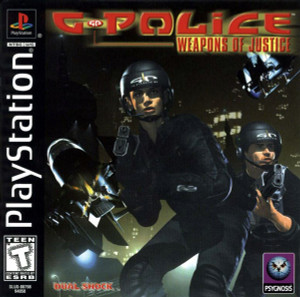 G Police Weapons Of Justice - PS1 Game