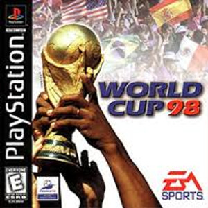 World Cup 98 - PS1 Game