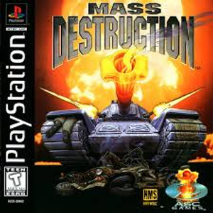 Mass Destruction - PS1 Game