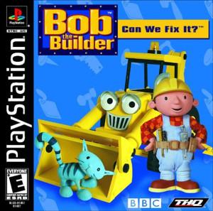 Bob The Bulider - PS1 Game