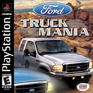Ford Truck Mania - PS1 Game
