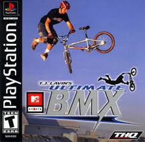 TJ Lavins Ultimate Bmx - PS1 Game