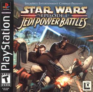 Star Wars Episode 1 Jedi Power Battles - PS1 Game