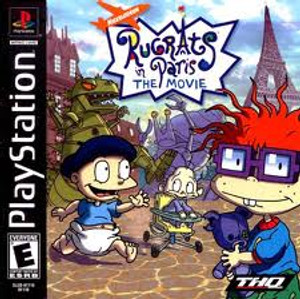 Rugrats In Paris The Movie - PS1 Game