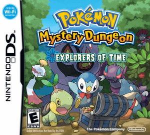 Pokemon Mystery Dungeon Explorers of Time - DS Game