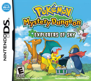 Pokemon Mystery Dungeon Exploreres of Sky - DS Game