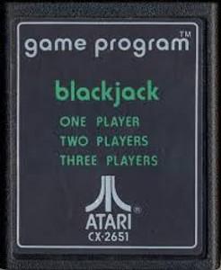 Black Jack - Atari 2600 Game